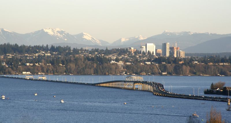 SR-520 and Bellevue